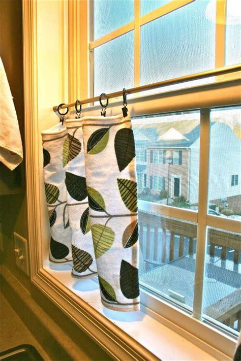 kitchen window curtain rods best 25 basement window curtains ideas on pinterest