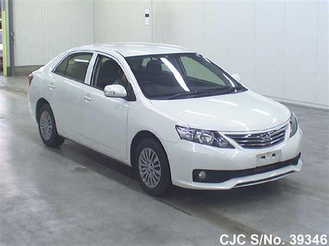 Toyota Allion 2012 Fuel Consumption 2012 Toyota Allion Pearl For Sale Stock No 39346