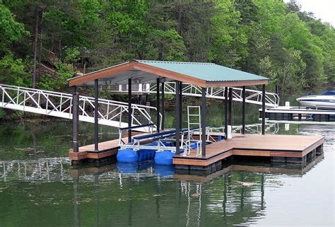 how to build a boat dock roof floating aluminum dock roof styles gable roof wahoo docks