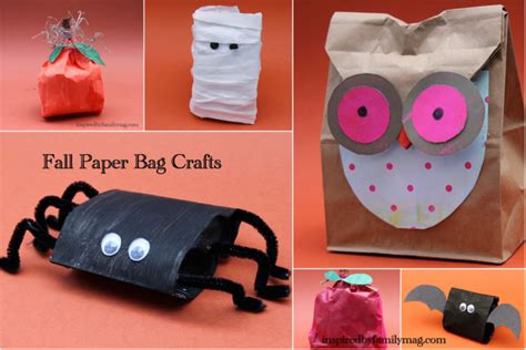 Crafts With Paper Bags - fall and paper bag crafts lesson plans