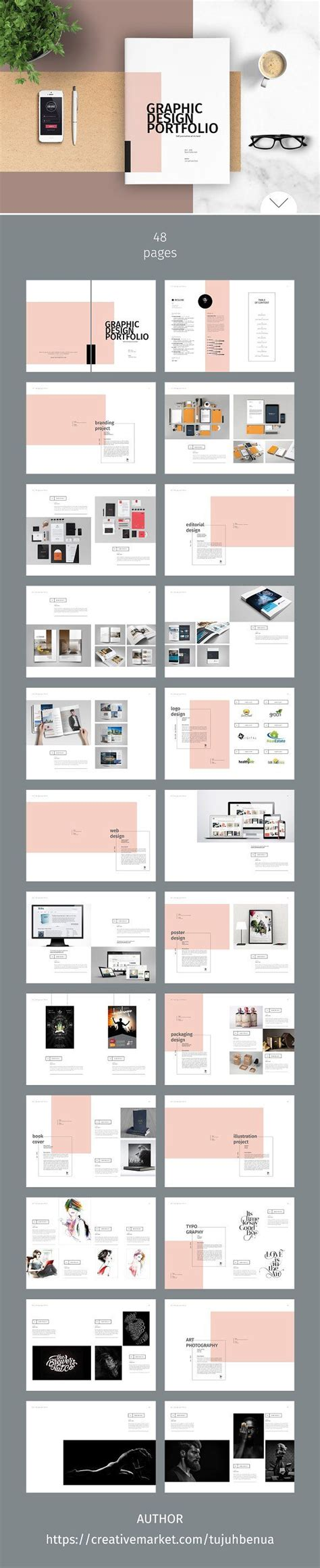 Architecture Portfolio Layout Indesign Interactive Pdf Portfolio On Behance Yaroslavgloushakov Com Architecture Portfolio Template Indesign Free