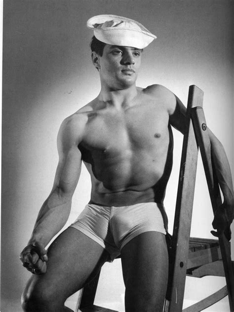vintage male beefcake actors pinned from