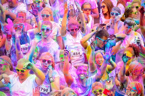 indianapolis color me rad indianapolis 5k run
