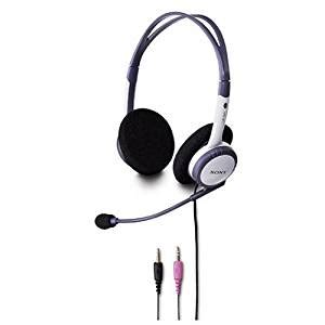 Handsfreeheadset Sony Stereo Berkualitas 2 sony dr220dp free pc headset stereo everything else