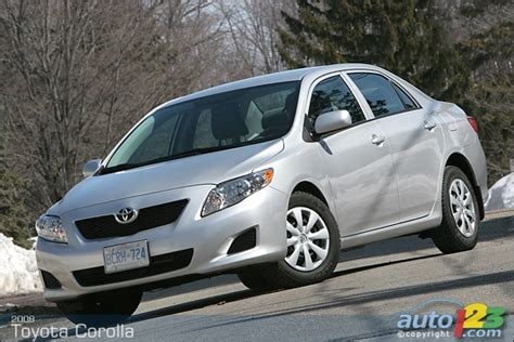 2009 Toyota Corolla Review List Of Car And Truck Pictures And Auto123