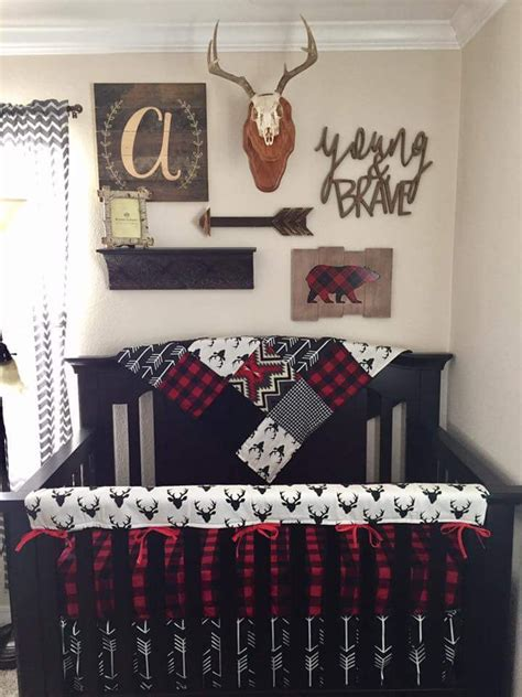 baby boy deer crib bedding baby boy crib bedding buck deer black arrows lodge