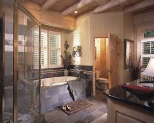 Log Cabin Bathroom Ideas by Share
