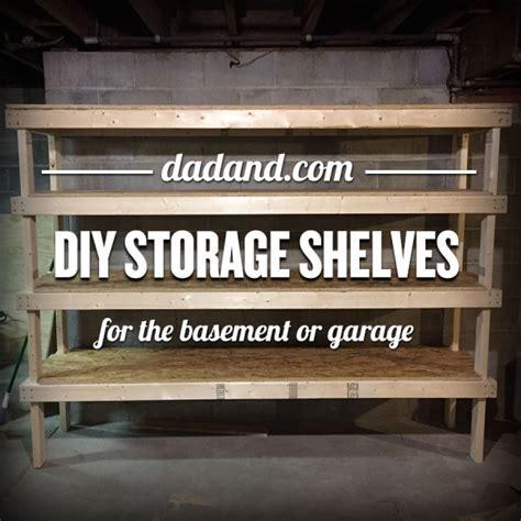 build storage shelves how to build diy storage shelving valet storage