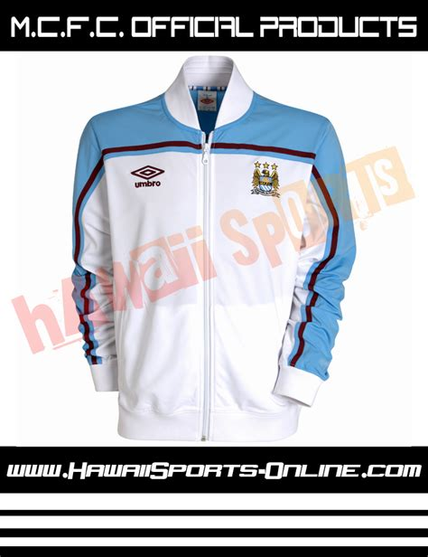 Jaket Futsal Umbro toko olahraga hawaii sports mcfc original jaket umbro manchester city poly track jacket white