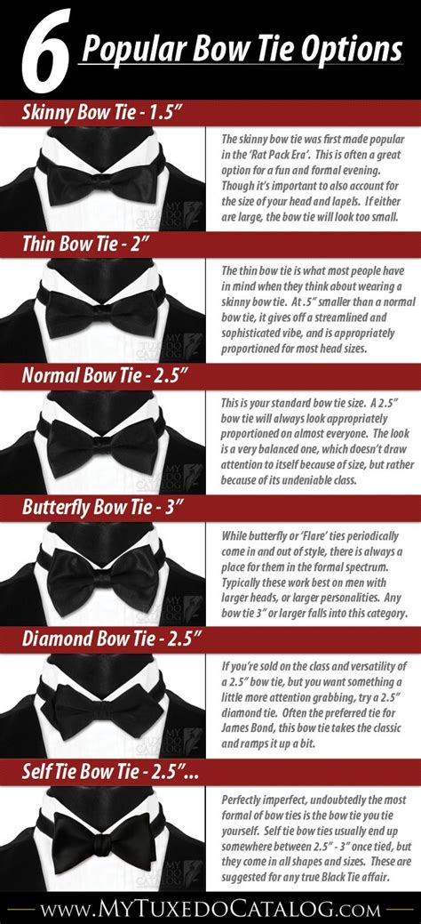tie pattern types the 6 different types of bow ties bowties necktie knots