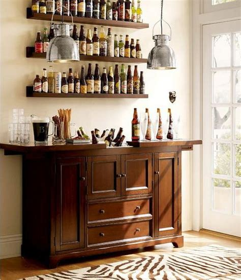 small home bar ideas and modern furniture for home bars - Small Home Bar