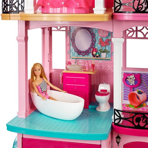 barbie doll house set games dreamhouse