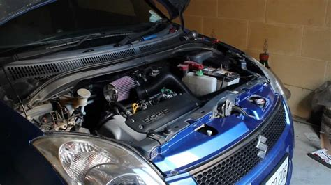 Open Filter K N Apollo By Vauto 2006 suzuki fitted with k n induction kit
