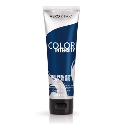 joico vero k pak color intensity semi permanent hair pictures joico vero k pak color intensity sapphire blue