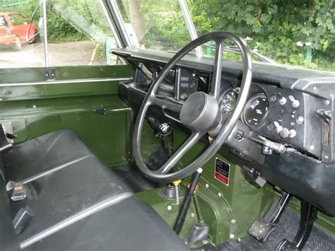 land rover series 3 interior a821 ksh 1983 series 3 galvanised chassis land rover