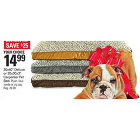 black friday dog beds carpenter pet bed 20 x 30 x 3 in at shopko black friday