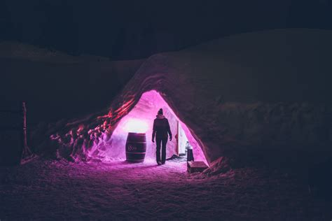 Nuit Dans Un Igloo 2841 by Avoriaz On A Dormi Dans Un Igloo