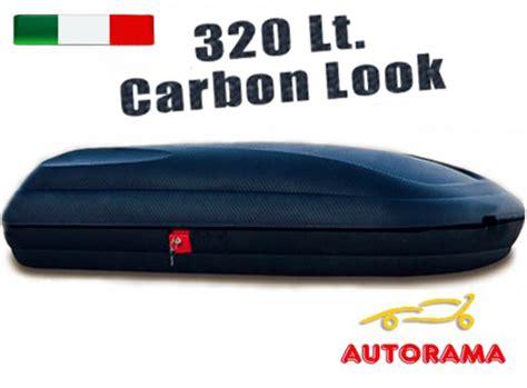 baule box auto box portatutto tetto portabagagli auto 320 litri autorama