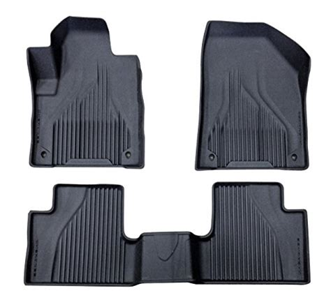 Jeep All Weather Mats by Jeep Black All Weather Rubber Floor Liner Slush