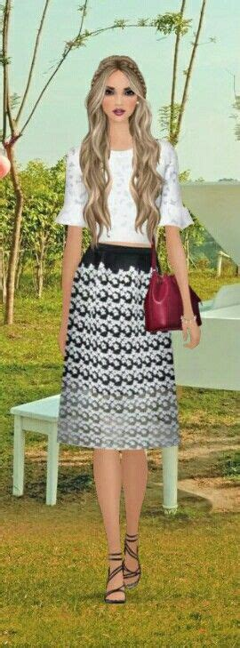 how to do country chic hairstyle from covet fashion covet fashion game quot sidewalk song quot challenge styled by
