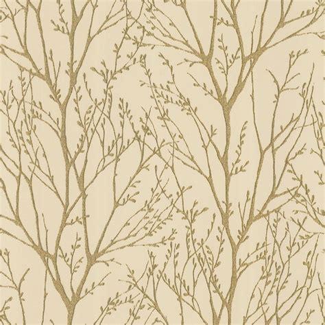 shimmer wallpaper metallic gold cream ilw