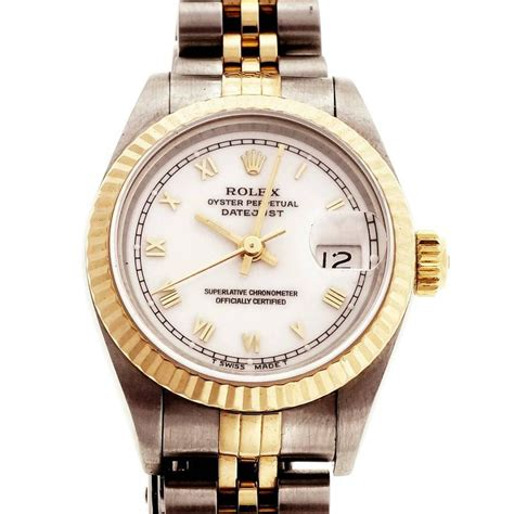 Diskon Rolex Sepasang Gold Cover White rolex stainless steel yellow gold s datejust jubilee wristwatch ref 69173 for sale at 1stdibs