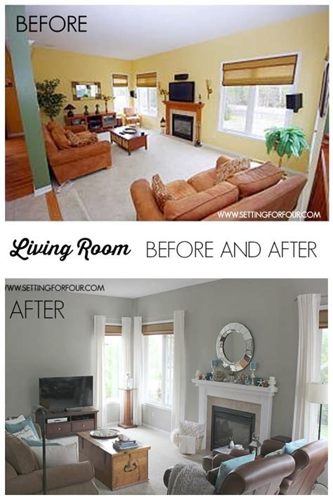 Living Room Makeover In One Day Paint Transformations 5 Amazing Diy Makeovers The