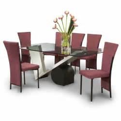 modern contemporary dining table sets glass top dining room tables dining room tables