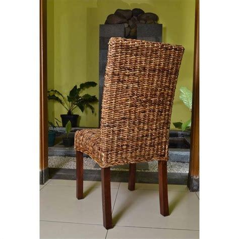 woven abaca cushion dining chair sg 3330 1ch
