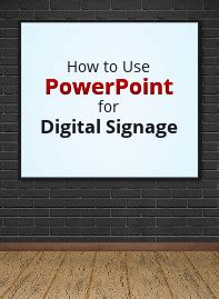 Digital Signage Templates And Powerpoint Templates Digital Signage Powerpoint Template