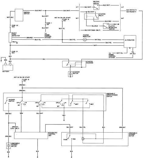89 civic stock harness diagram get free image about