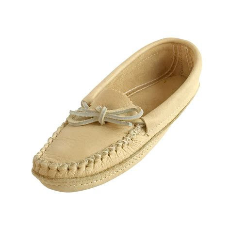 womens leather slippers s comfy genuine moose hide leather handmade moccasin