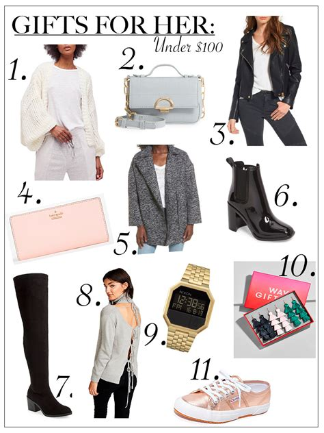 holiday gift ideas for her under 100 money can buy holiday guide 2017 gifts for her under 0 chic talk