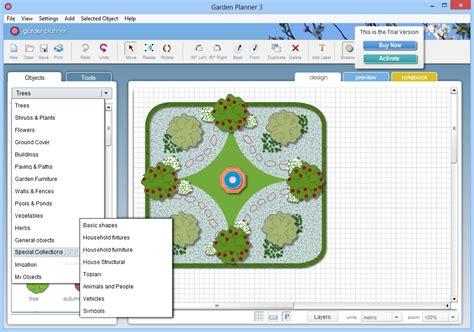 Patio Planner Software by Garden Planner Simple Software For Designing Garden
