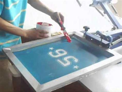 diy screen print india 4 color 1 2 station silk screen printing t shirt