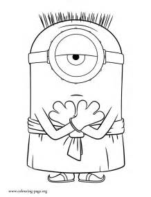 minions coloring free coloring pages of jerry minion
