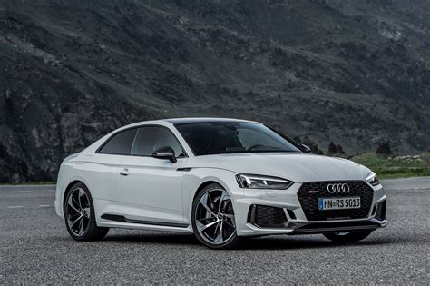 Audi Rs 5 early drive 2017 audi rs 5 coupe parkers