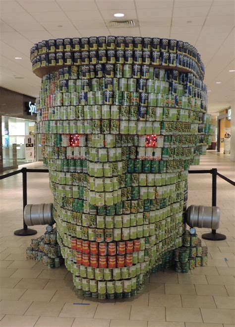 canstruction students design and build colossal aia nj s 16th annual canstruction winners announced