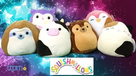 squishy squooshems squishmallows 8 inch plush from kellytoy