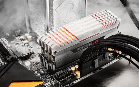 ddr4 ram with led lights corsair puts leds in new vengeance led ddr4 memory