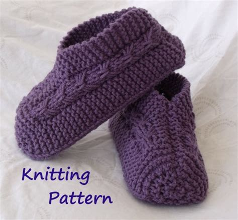 easy crochet slippers free pattern easy to knit bow slippers tutorial knitting pattern for