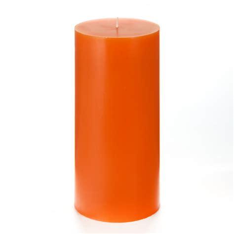 Orange Candle 4x8 Orange Pillar Candle