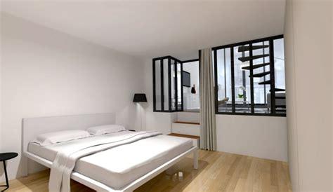 chambre avec verriere cloison amovible s 233 parer et optimiser des espaces