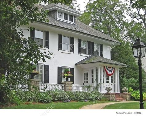 classic american house classic american house stock photo i1137624 at featurepics