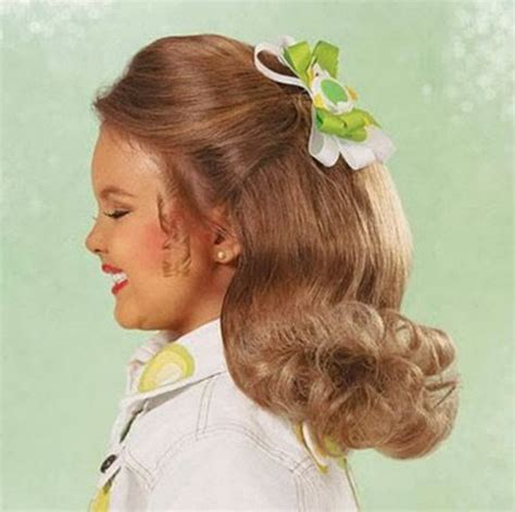 short pageant hairstyles for little girls long pageant hairstyles for little girls