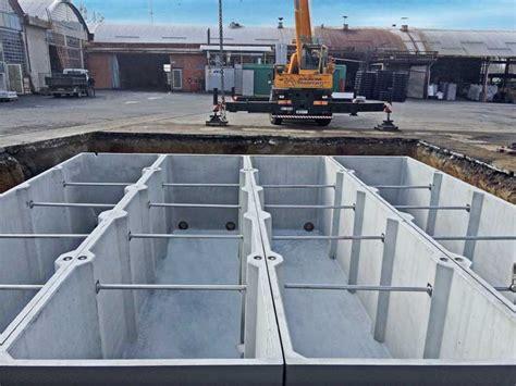 vasca prefabbricata vasche prefabbricate di grandi dimensioni in c a da 53000