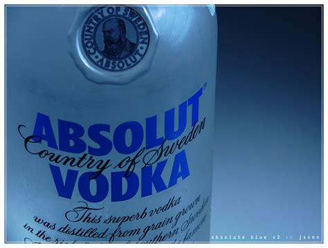 Absolute Blue absolute blue vodka v3 by javensoong on deviantart