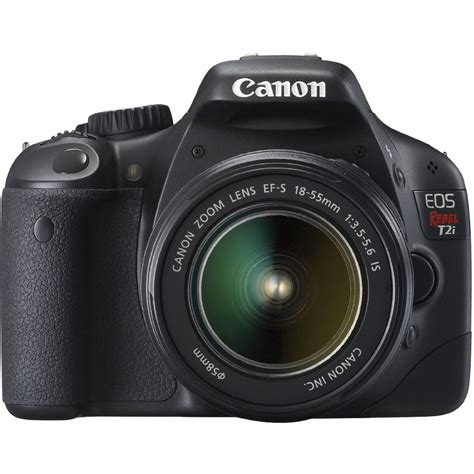 canon t2i canon eos rebel t2i digital slr kit w ef s 18 55 is ii
