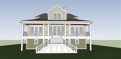 coastal stock house plans moss creek cottage