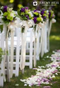 draping flowers for weddings 1000 images about outdoor wedding ceremony aisle